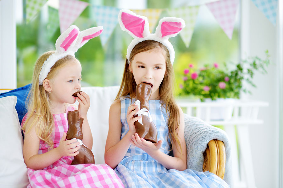 The Easter Bunny is Coming! Prevent Tooth Decay in Small Children with these Helpful Tips.